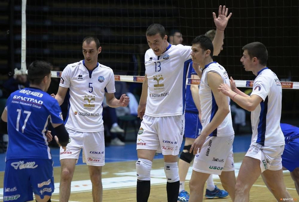 Волейболистите на Пирин (Разлог) успяха да се класират за полуфиналите