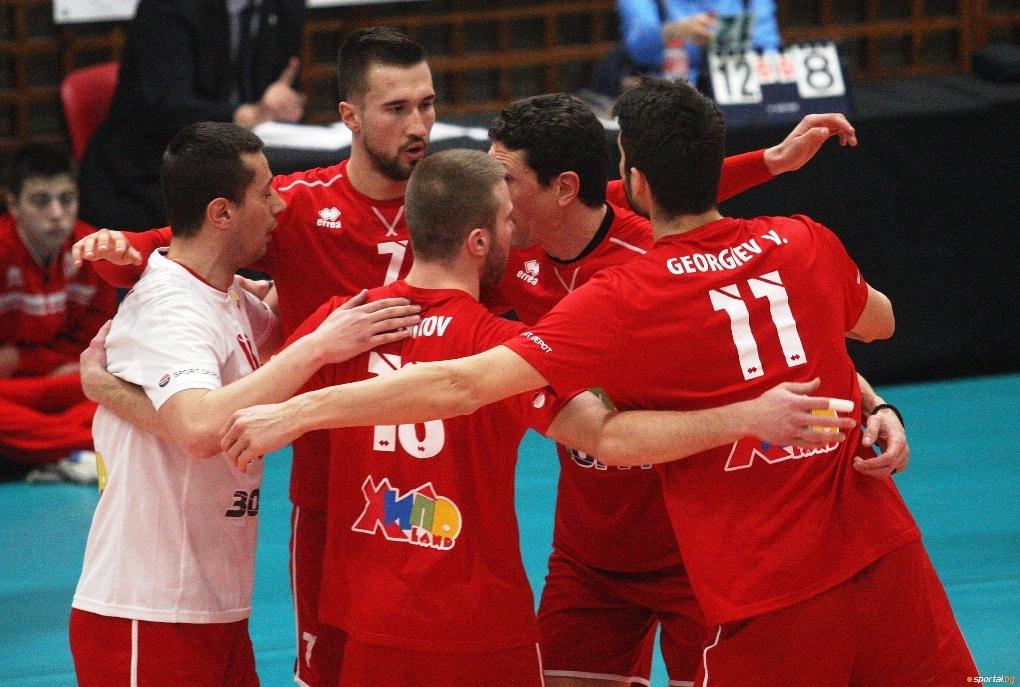 Волейболият отбор на ЦСКА се класира за полуфиналните плейофи в