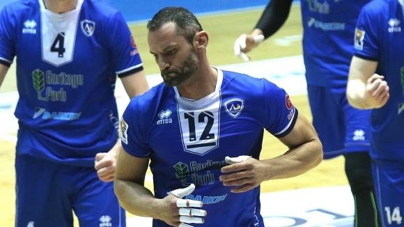 Волейболният Левски София отпадна на 1/4-финалите на Суперлигата. Възпитаниците на