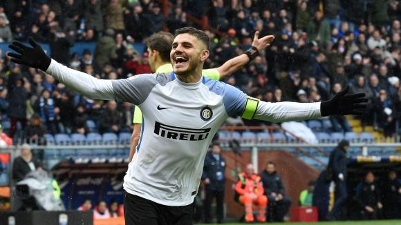 Отборите на Сампдория и Интер играят при резултат 0:0 в