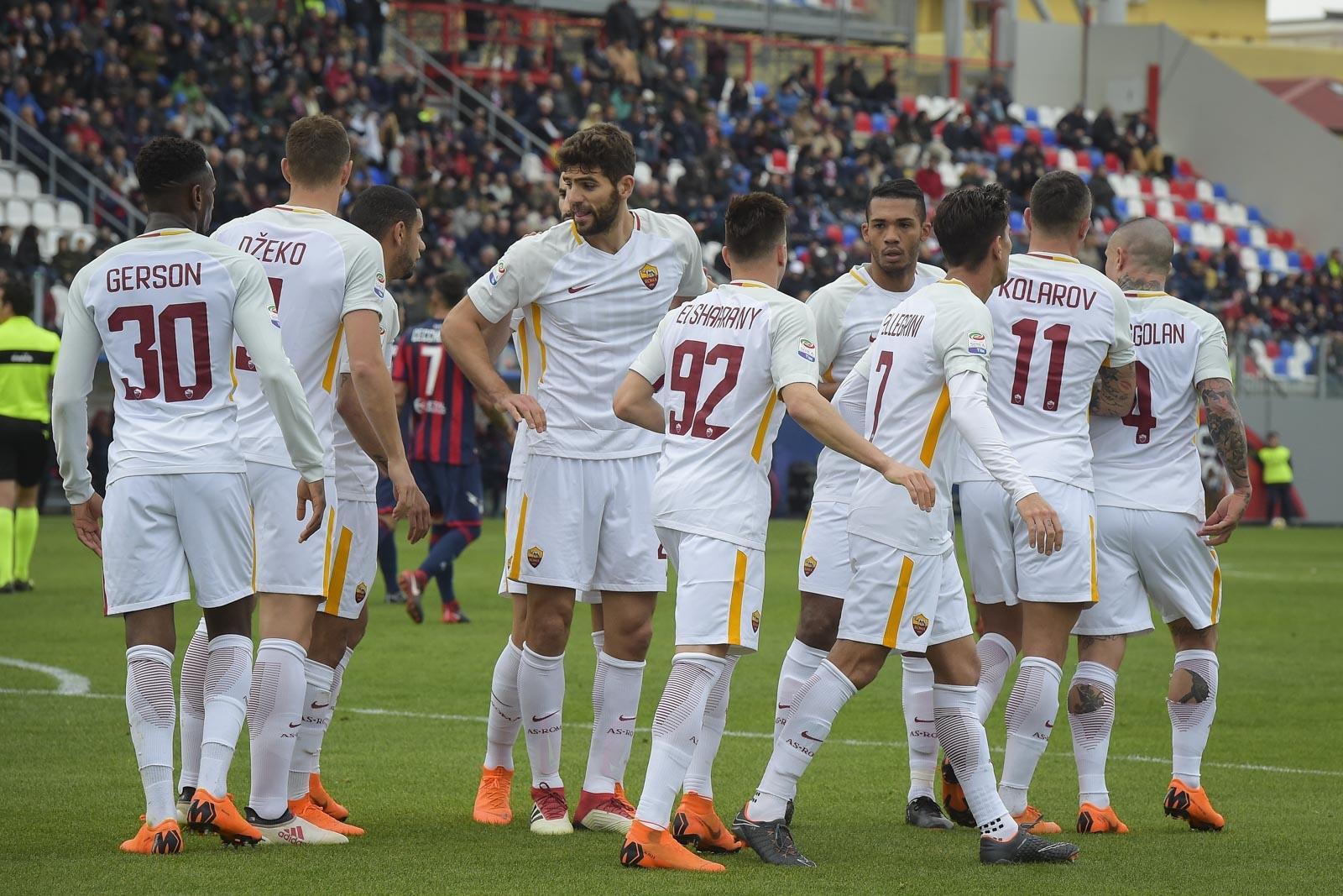 Отборът на Рома се наложи с 2:0 като гост над