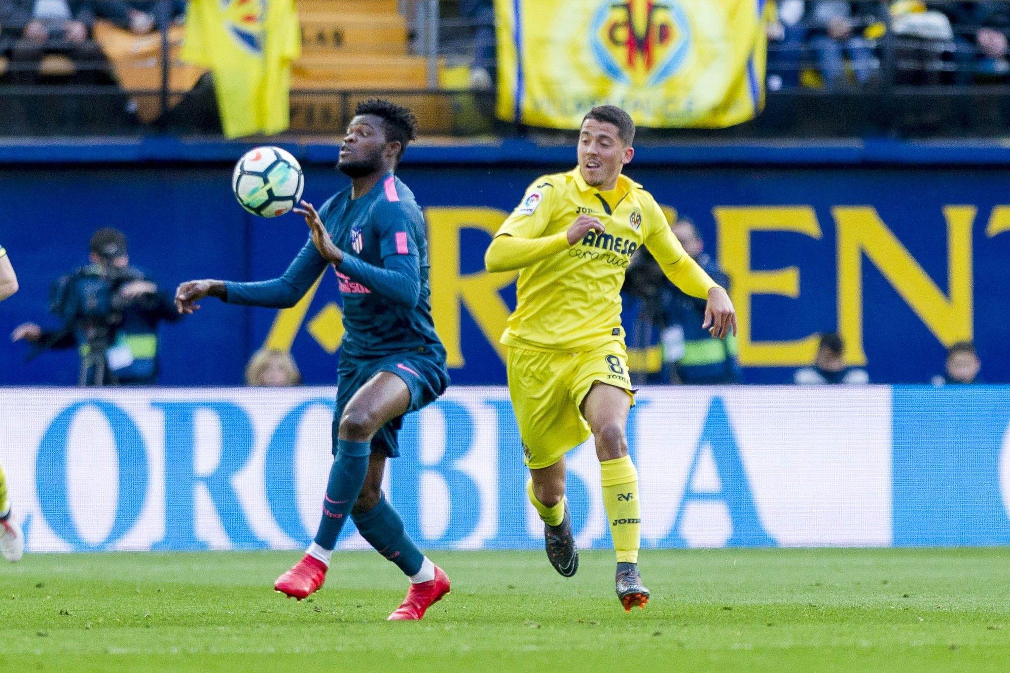 Отборът на Виляреал направи късен обрат срещу Атлетико Мадрид на
