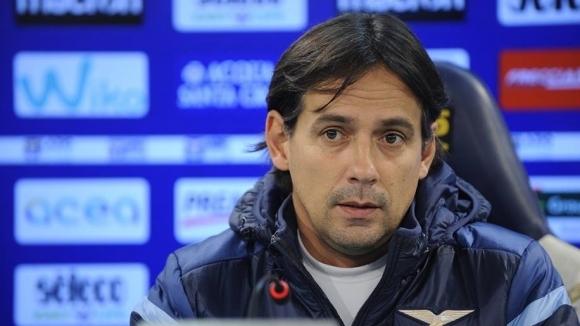 Треньорът на Лацио Симоне Индзаги беше разочарован след равенството 1:1