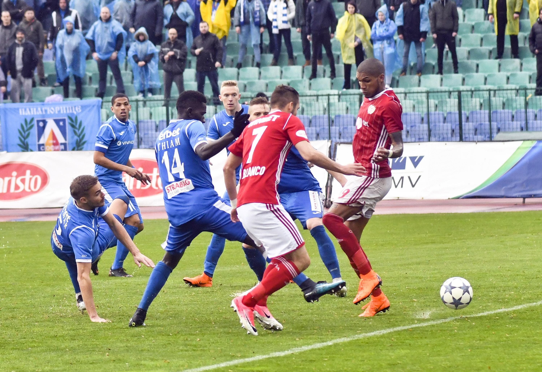 Отборът на ЦСКА-София е спечелил цели 12 точки през редовния