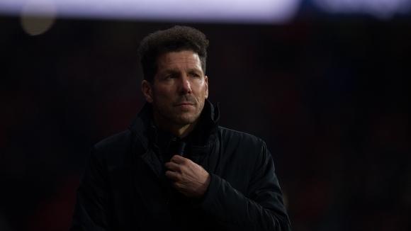 Tреньорът на Атлетико Мадрид Диего Симеоне заяви, че приема вчерашната