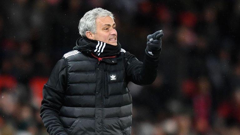 Мениджърът на Манчестър Юнайтед Жозе Моуриньо, който преди няколко дни
