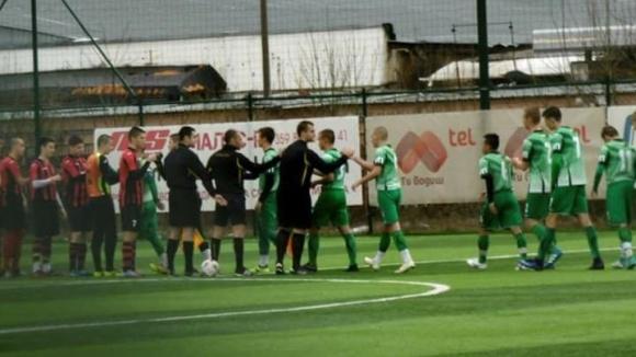 Отборът на Витоша (Бистрица) до 17 години спечели с 2:0