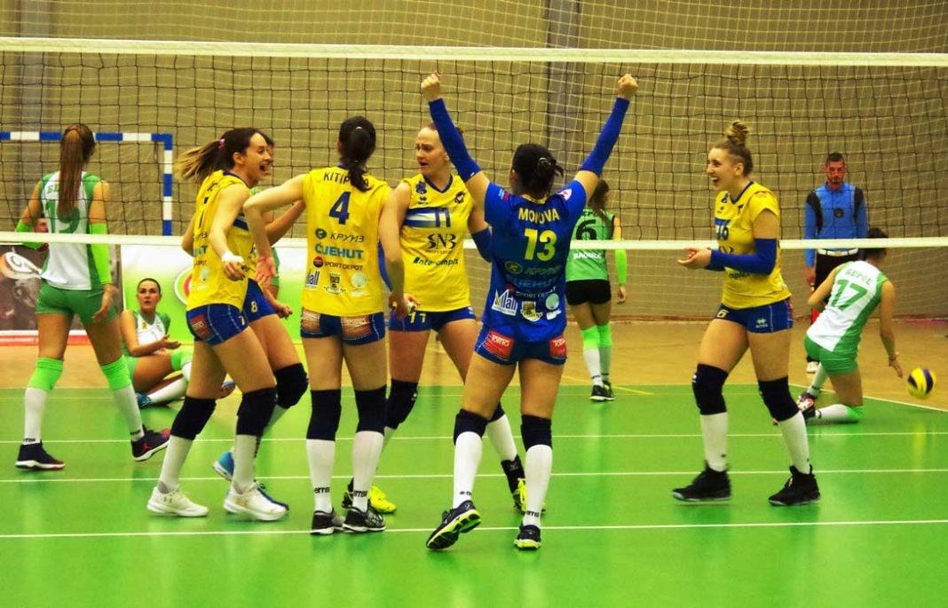 Първият мач от финалите в шампионата на България по волейбол