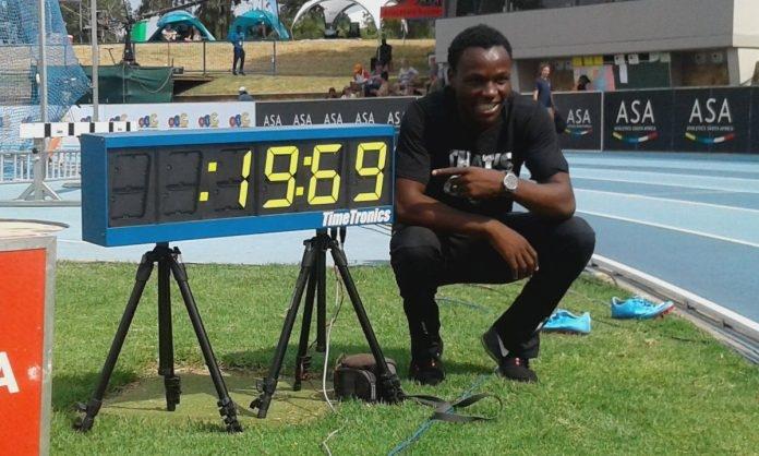 Преди броени дни един 20-годишен младеж поднесе минисензация в атлетическия