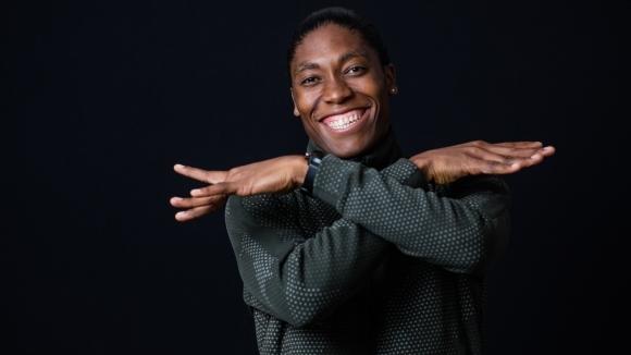 Новата рекордьорка на Република Южна Африка на 1000 метра Кастер