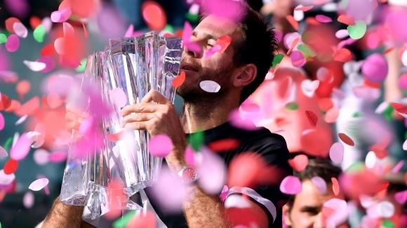 Триумфът на Хуан Мартин дел Потро над Роджър Федерер в