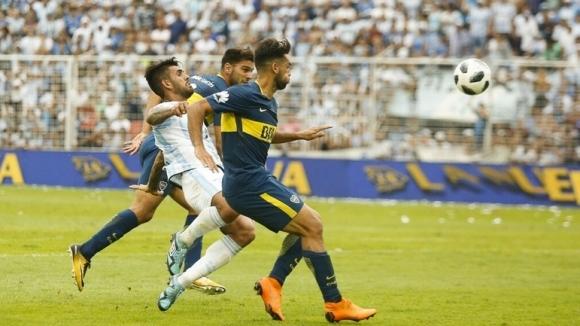 Шампионът на Аржентина Бока Хуниорс се спаси от поражение в
