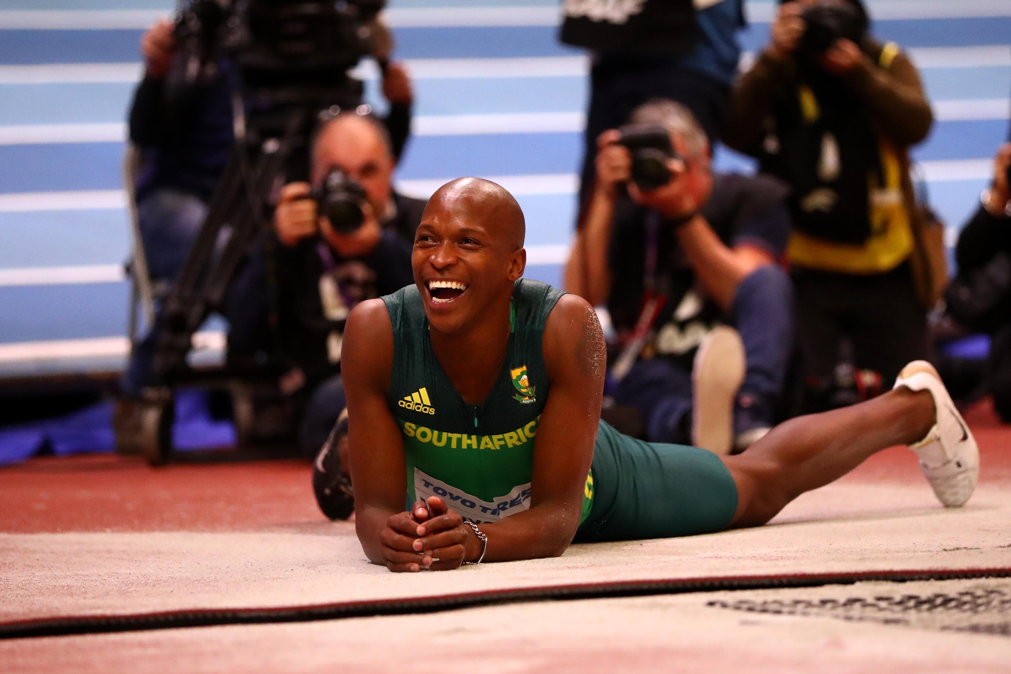 Световният шампион в скока на височина на открито от Лондон