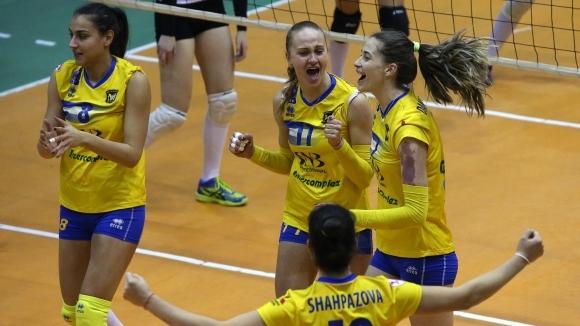 Първият финален плейоф в женската Национална волейболна лига между Марица