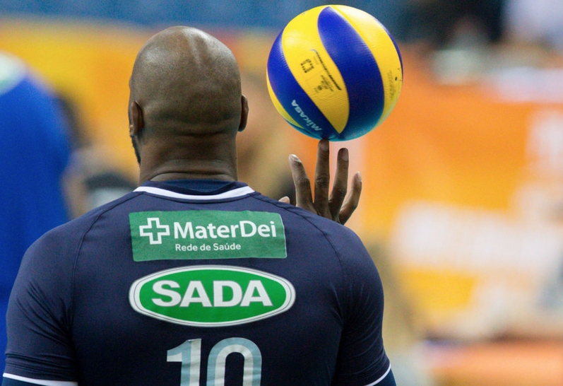 Един от най-добрите волейболисти в света - кубинският център Робертланди