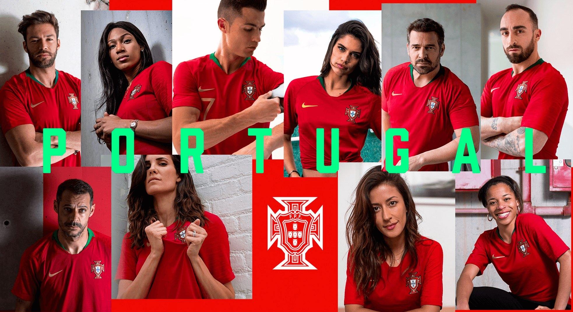 Националният отбор на Португалия представи екипите за световното първенство в