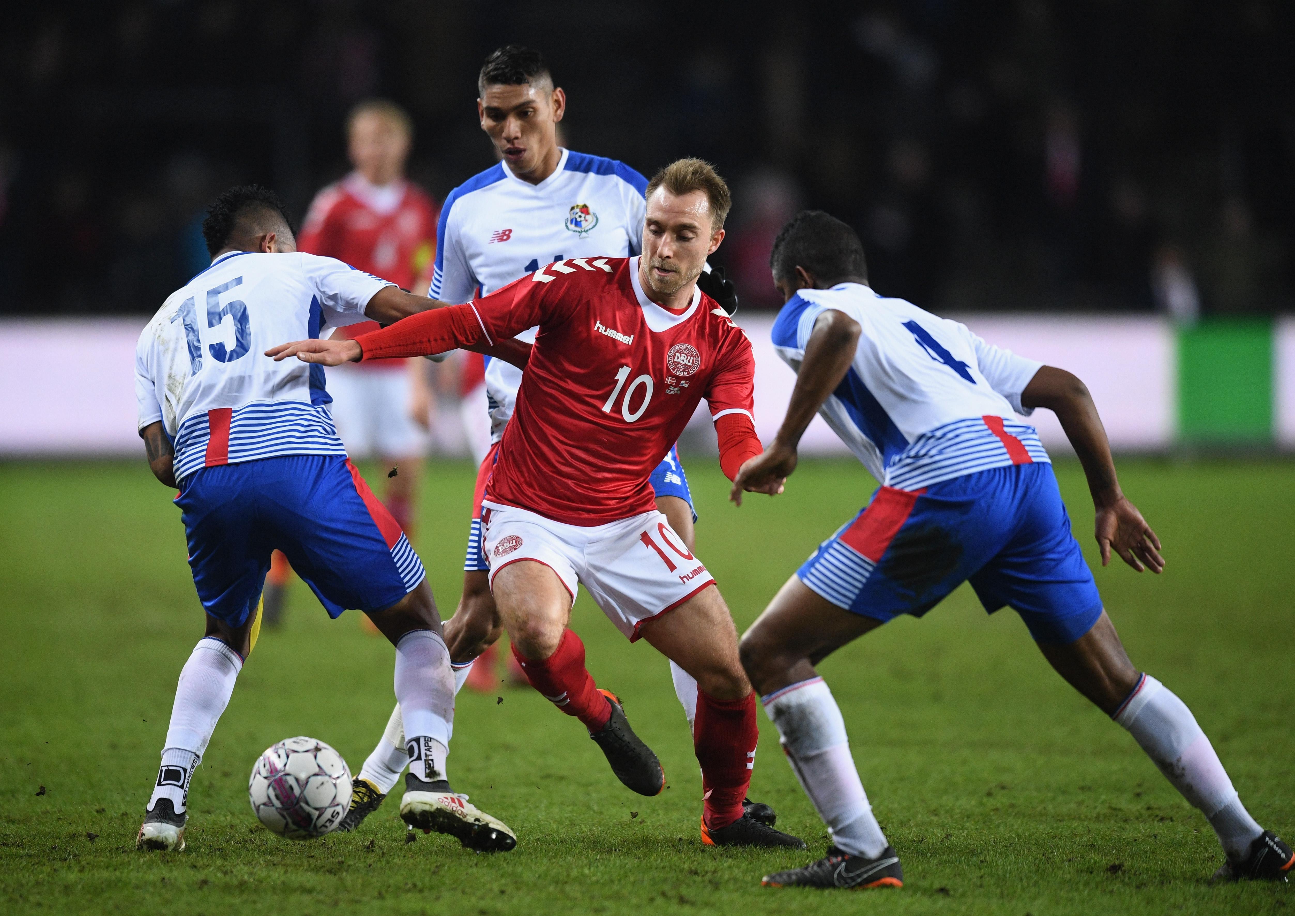 Дания победи у дома Панама с 1:0 в контролен мач.