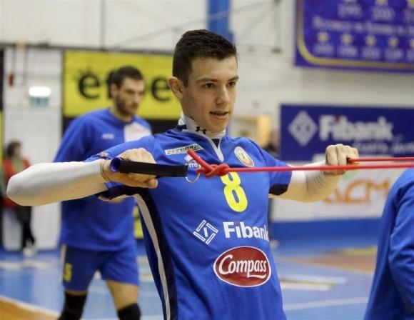 Волейболистът на Монтана Аспарух Аспарухов отговори на въпросите на BGvolleyball.com