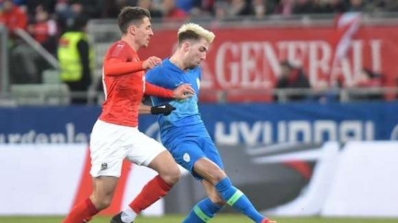 Австрия разгроми Словения с 3:0 в контрола, играна в Клагенфурт.