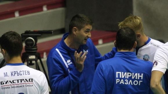 Старши треньорът на Пирин (Разлог) Северин Димитров говори след загубата