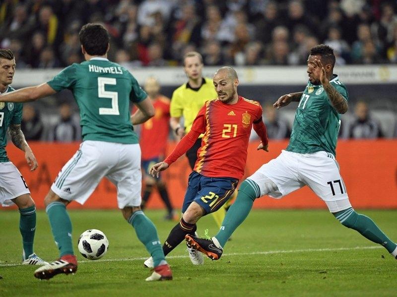 Полузащитникът Давид Силва напусна лагера на националния отбор на Испания