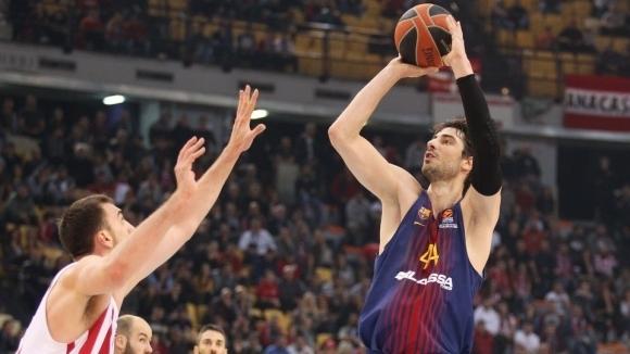Хърватският център на Барселона Анте Томич бе избран за най-добър