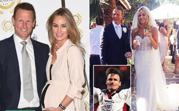 Бившият английски футболен ас Теди Шерингам ще става татко отново
