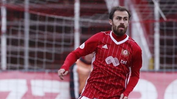 Халфът на ЦСКА-София Тиаго Родригес беше избран за играч на