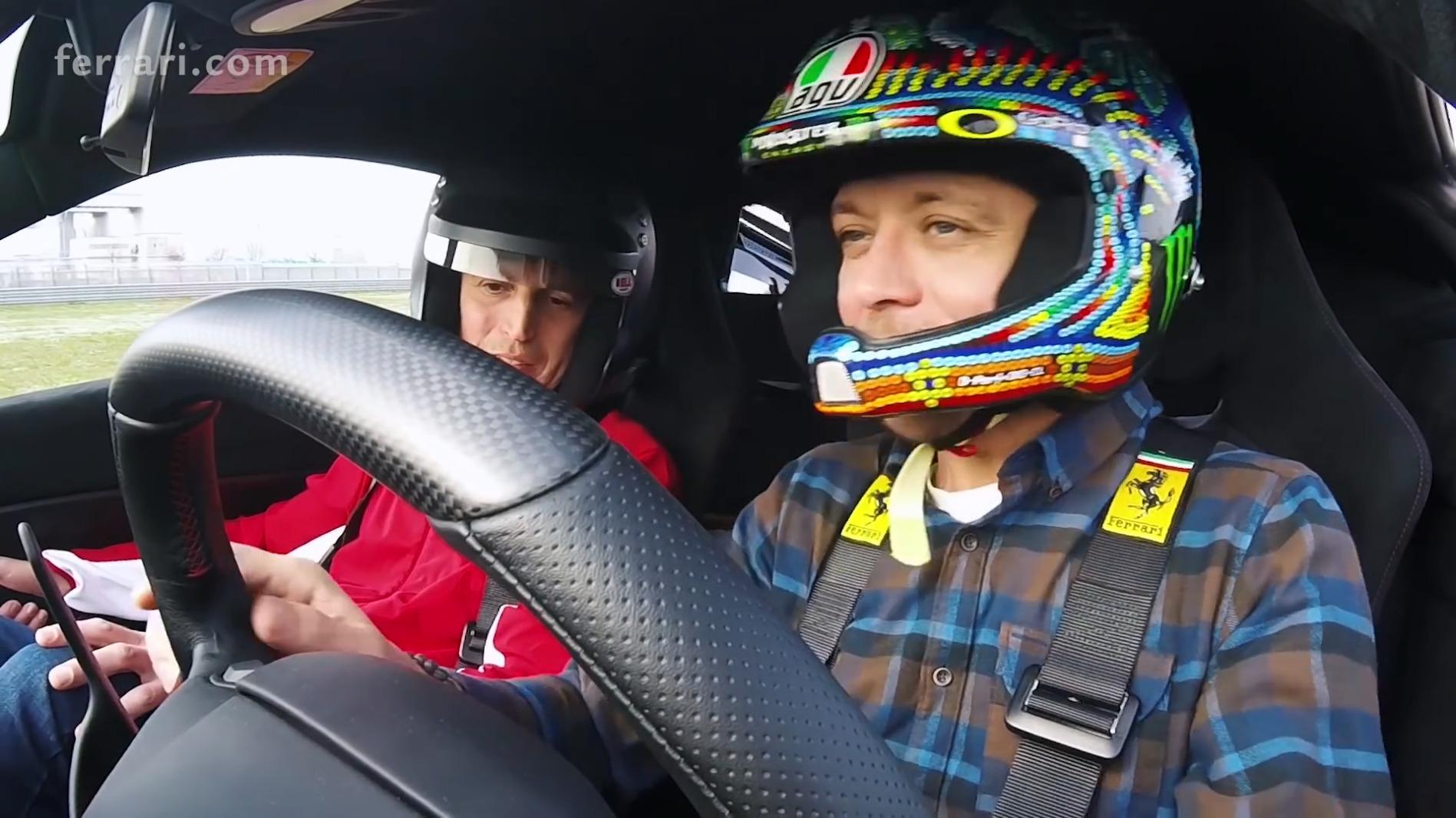 Най-новото Ferrari 488 Pista излезе на пистата за специален тестдрайв.