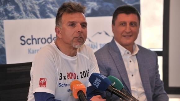 В началото на следващата седмица алпинистът Боян Петров тръгва на