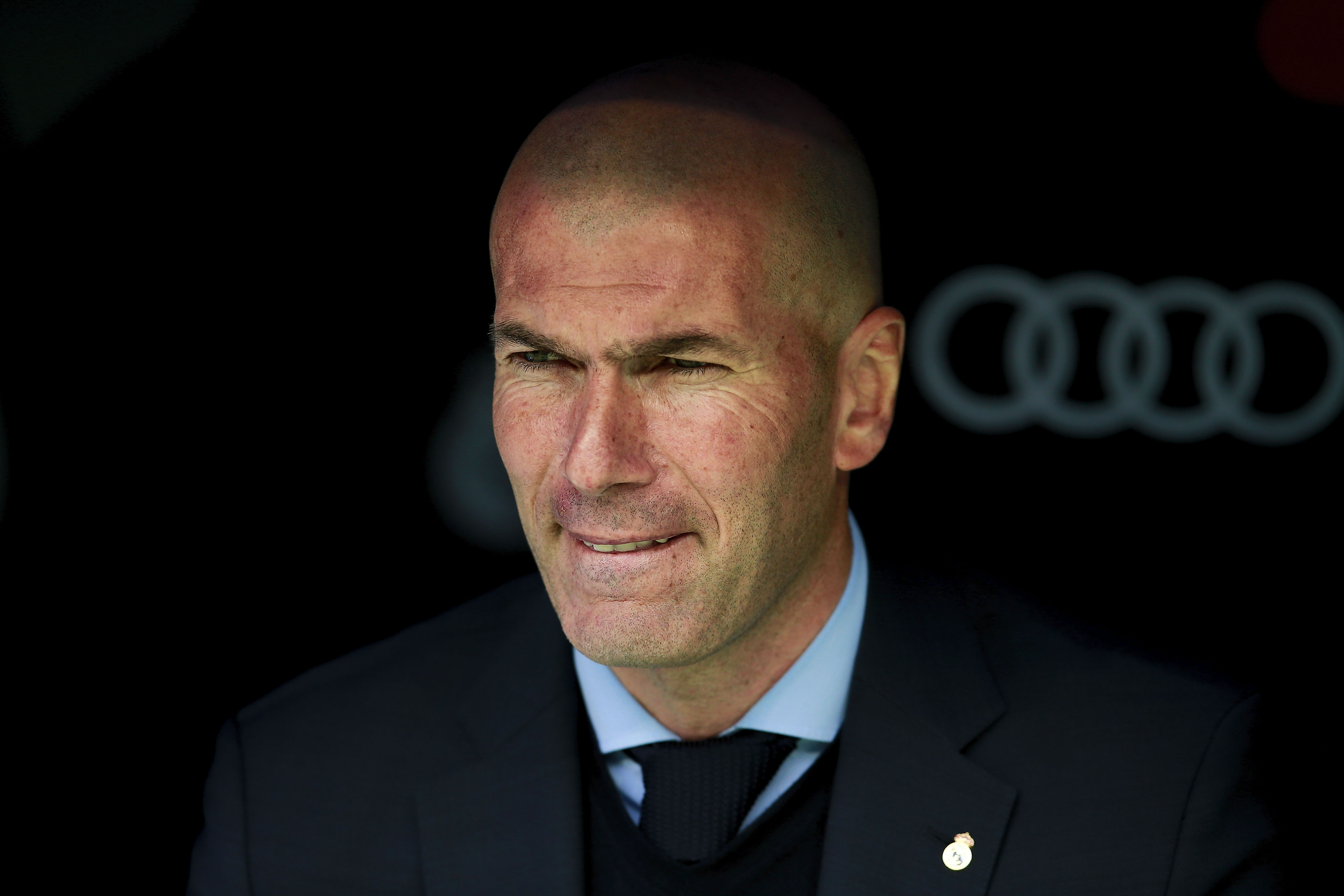 Треньорът на Реал Мадрид Зинедин Зидан не спира да изразява