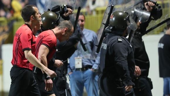 Защитникът на Ботев (Пловдив) Радослав Терзиев се изказа крайно негативно