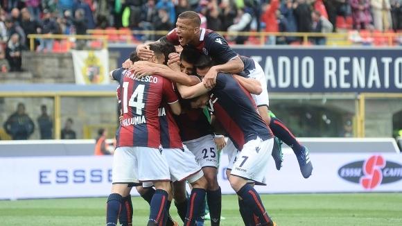 Отборът на Болоня постигна победа с 2:0 над гостуващия Верона