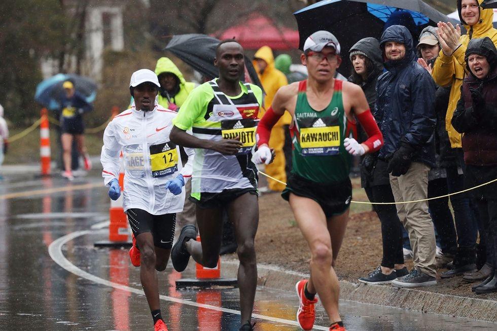 Японецът Юки Каваучи спечели 122-о издание на лекоатлетическия маратон на