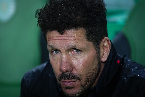 Наставникът на Атлетико Мадрид Диего Симеоне обяви вратаря на тима