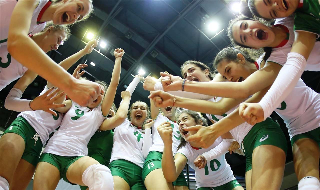 Националният волейболен отбор на България за девойки до 17 години