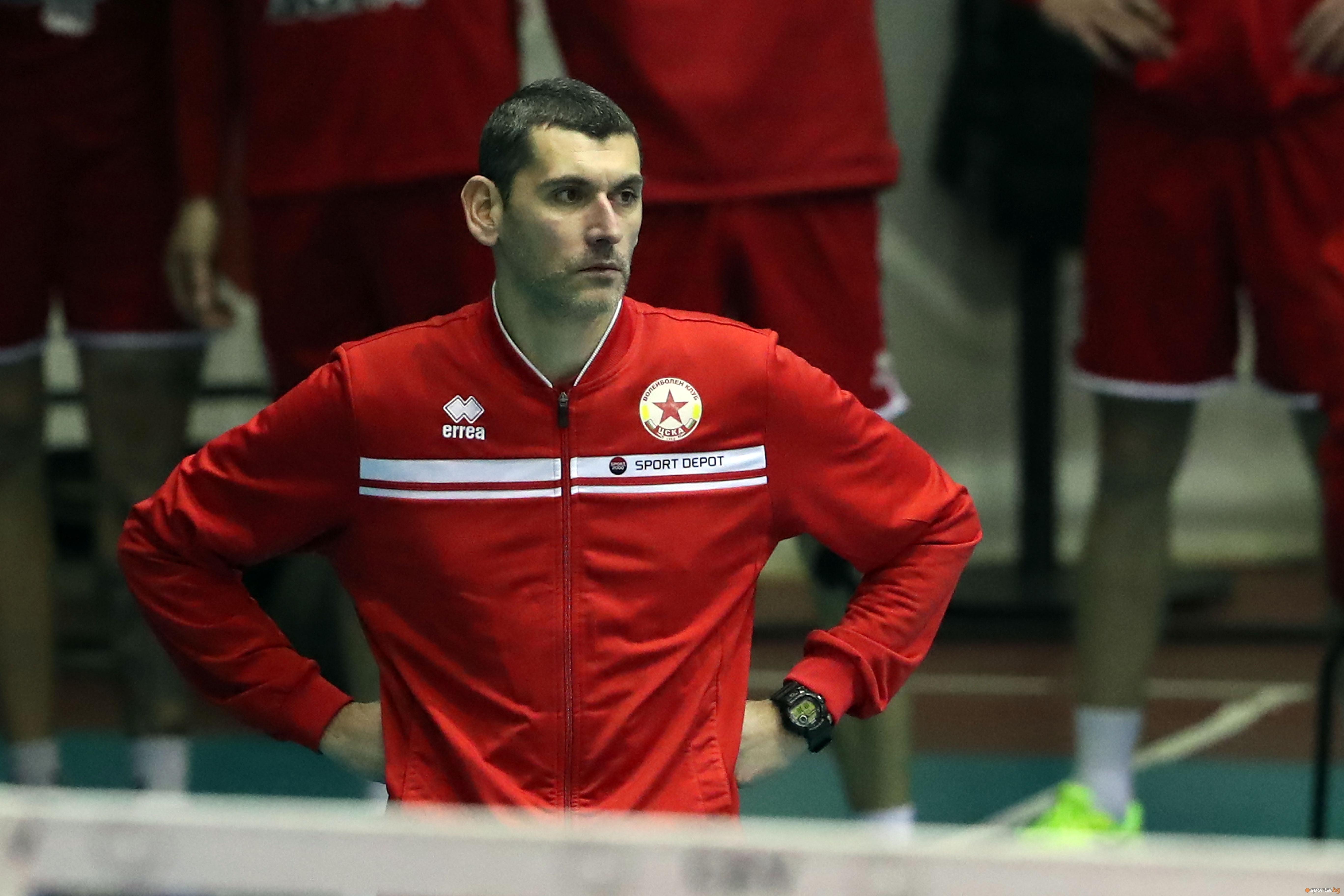 Старши треньорът на ЦСКА Александър Попов изрази задоволството си от