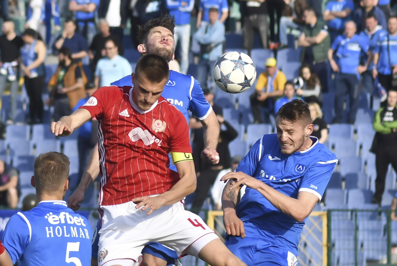 Представители на френски клубове наблюдаваха дербито между ЦСКА-София и Левски