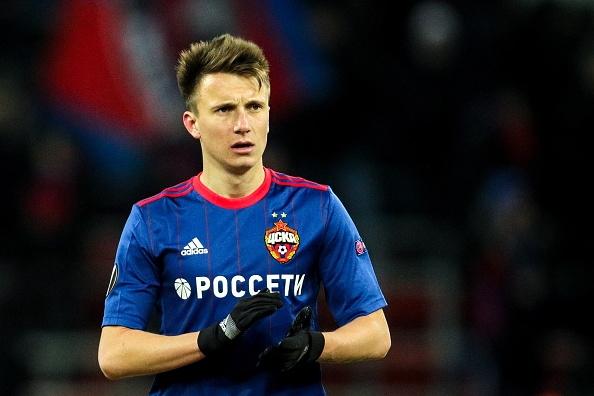 Младата звезда на ЦСКА (Москва) Александър Головин може да продължи