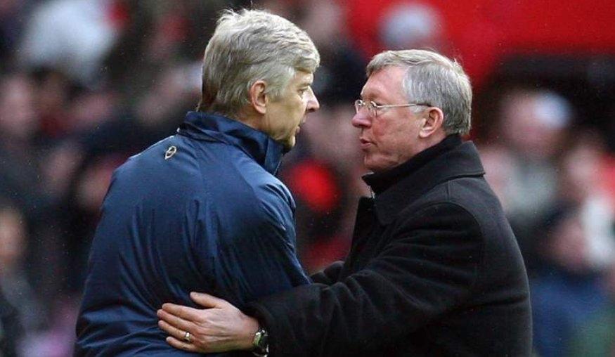 Бившият мениджър на Манчестър Юнайтед сър Алекс Фъргюсън определи Арсен