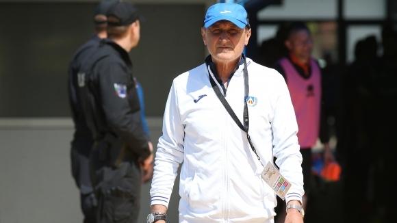 Старши треньорът на Левски Делио Роси остана доволен от факта,