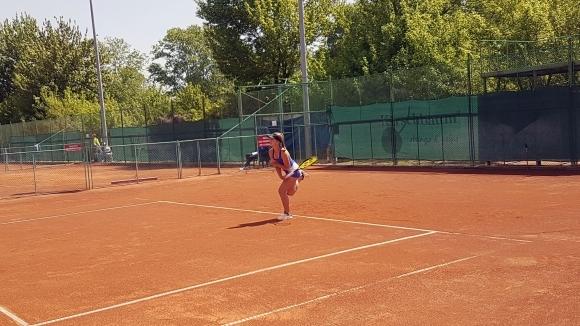 Гергана Топалова загуби финала на двойки на международния турнир по