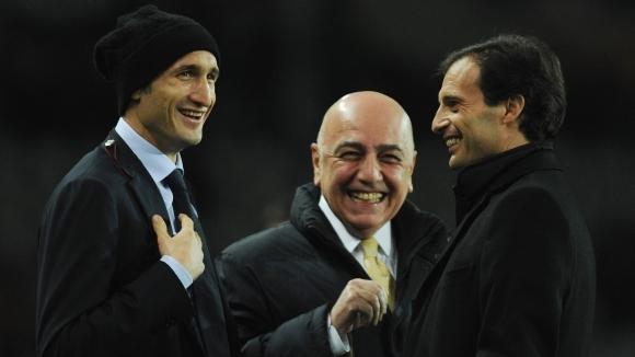 """Дългогодишният спортен директор на Милан Адриано Галини, който напусна """"росонерите"""""""