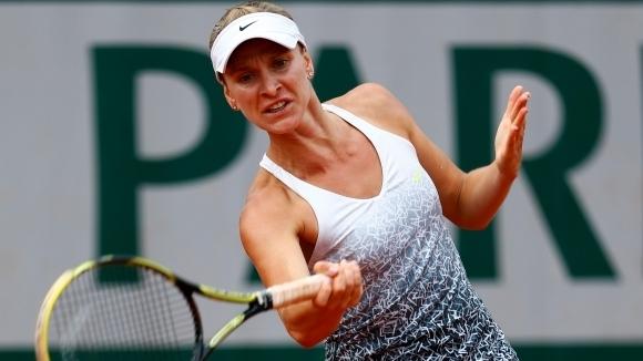 Българката Сесил Каратанчева отпадна на полуфиналите на турнира по тенис