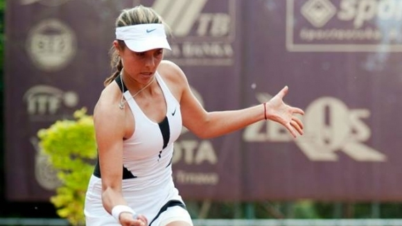 Виктория Томова постигна победа в първия кръг на квалификациите на