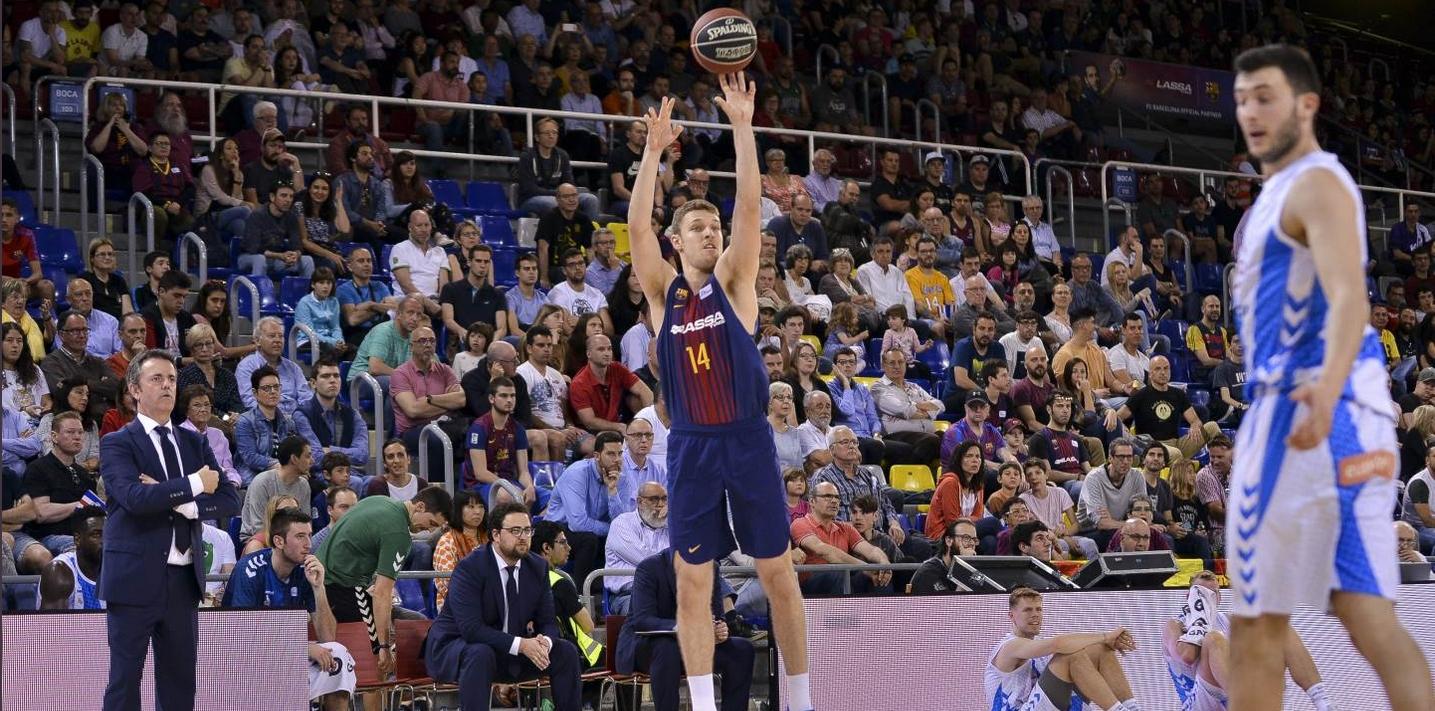 Барселона победи гостуващия Гипускоа с 89:74 (24:19, 22:16, 22:21, 21:18)