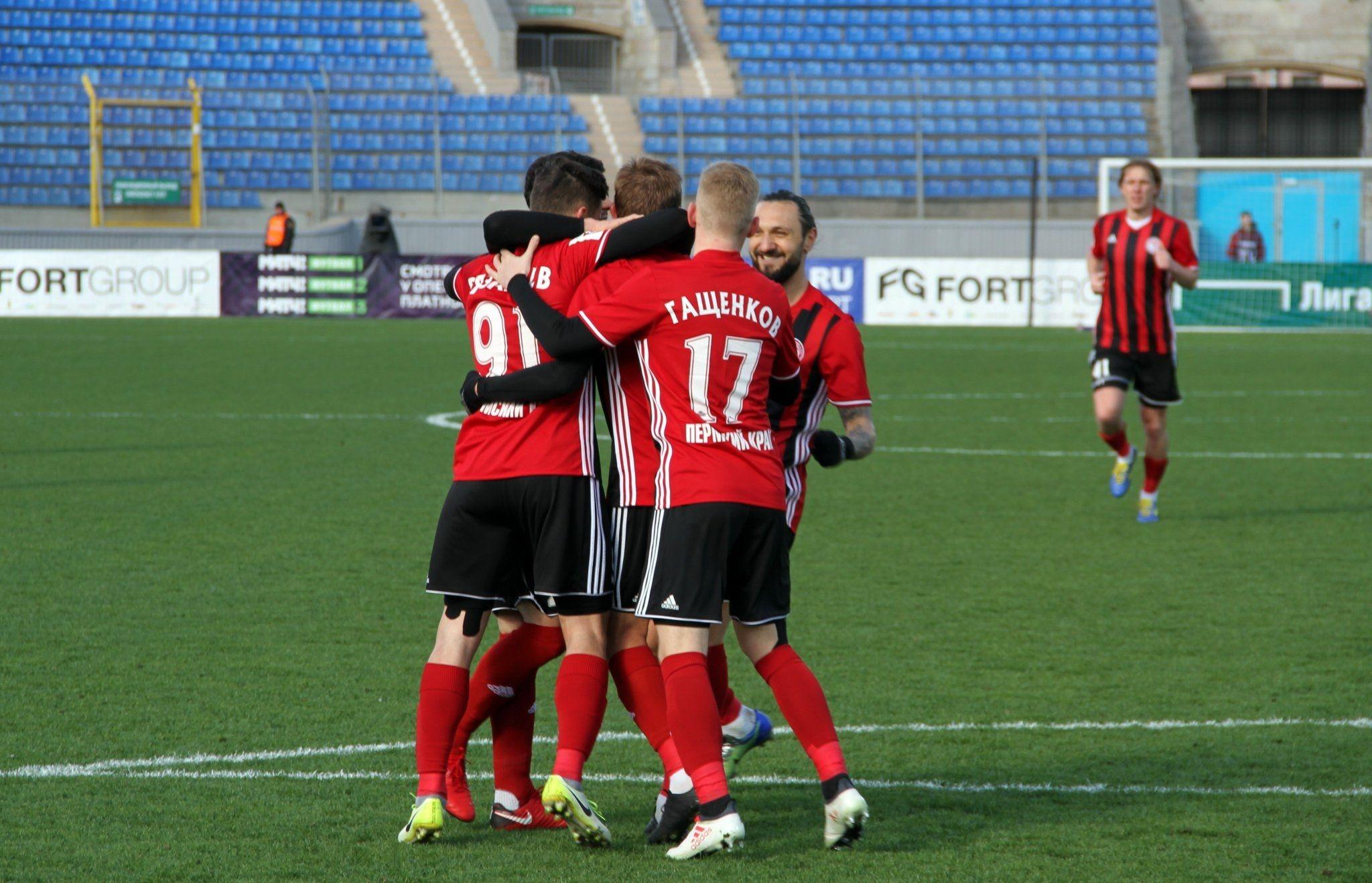 В мач от 27-ия кръг на Премиер лигата Амкар победи