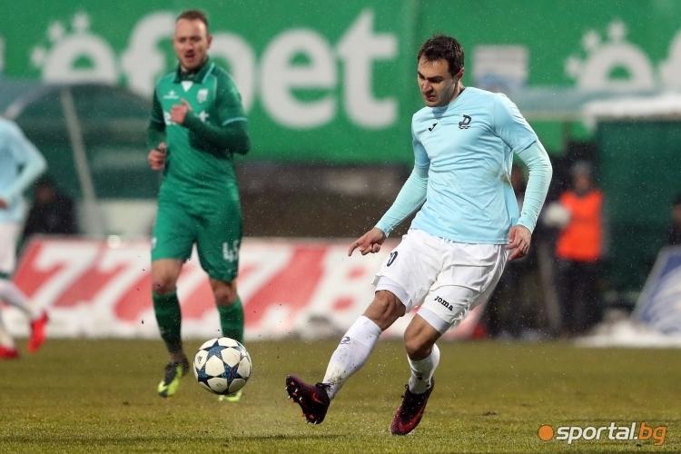 Халфът на Дунав Васил Шопов заяви, че е доволен играта