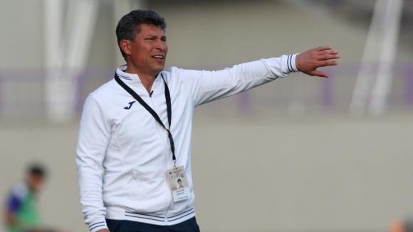 Треньорът на Етър Красимир Балъков прие философски загубата от Дунав