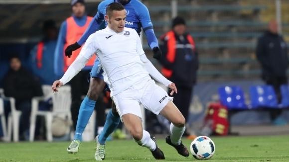 Сезонът за българския защитник на Лариса Христофор Хубчев приключи по